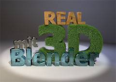 real 3D mit Blender